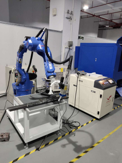 Robot Fiber Laser Welding Machine