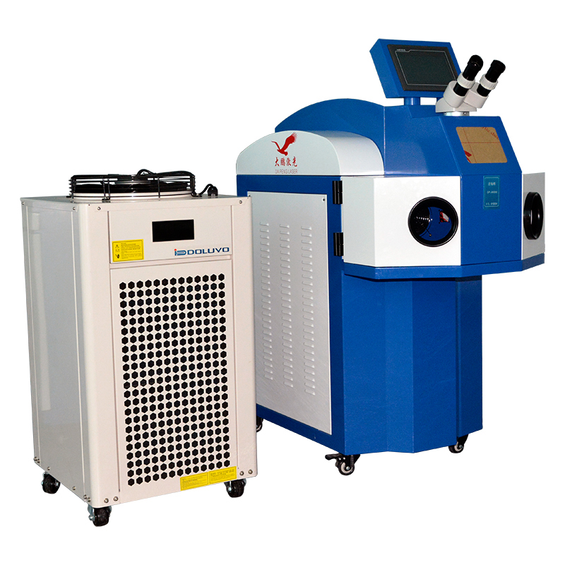 Jewelry Laser Welding Machine 200W Spot Welder